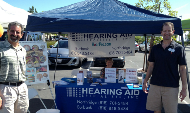 hearing event in Northridge and Burbank, CA
